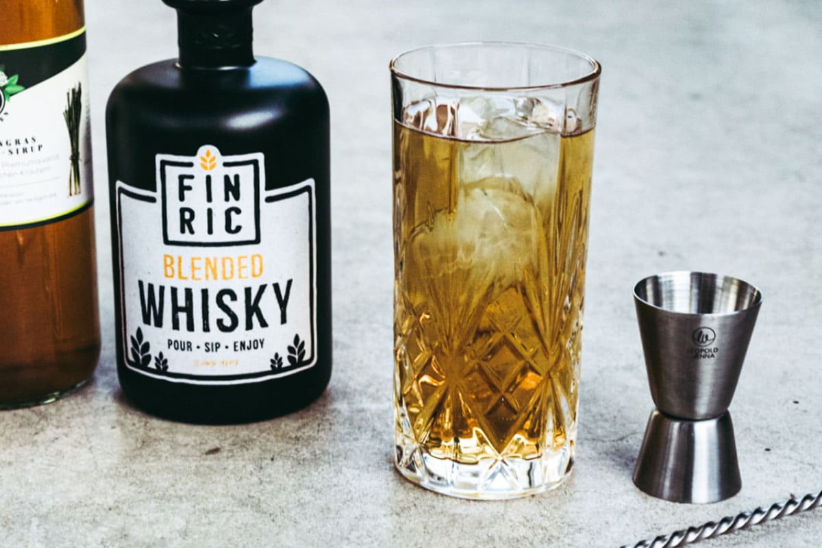 FINRIC Sweet and Bitter - Whisky Cocktail
