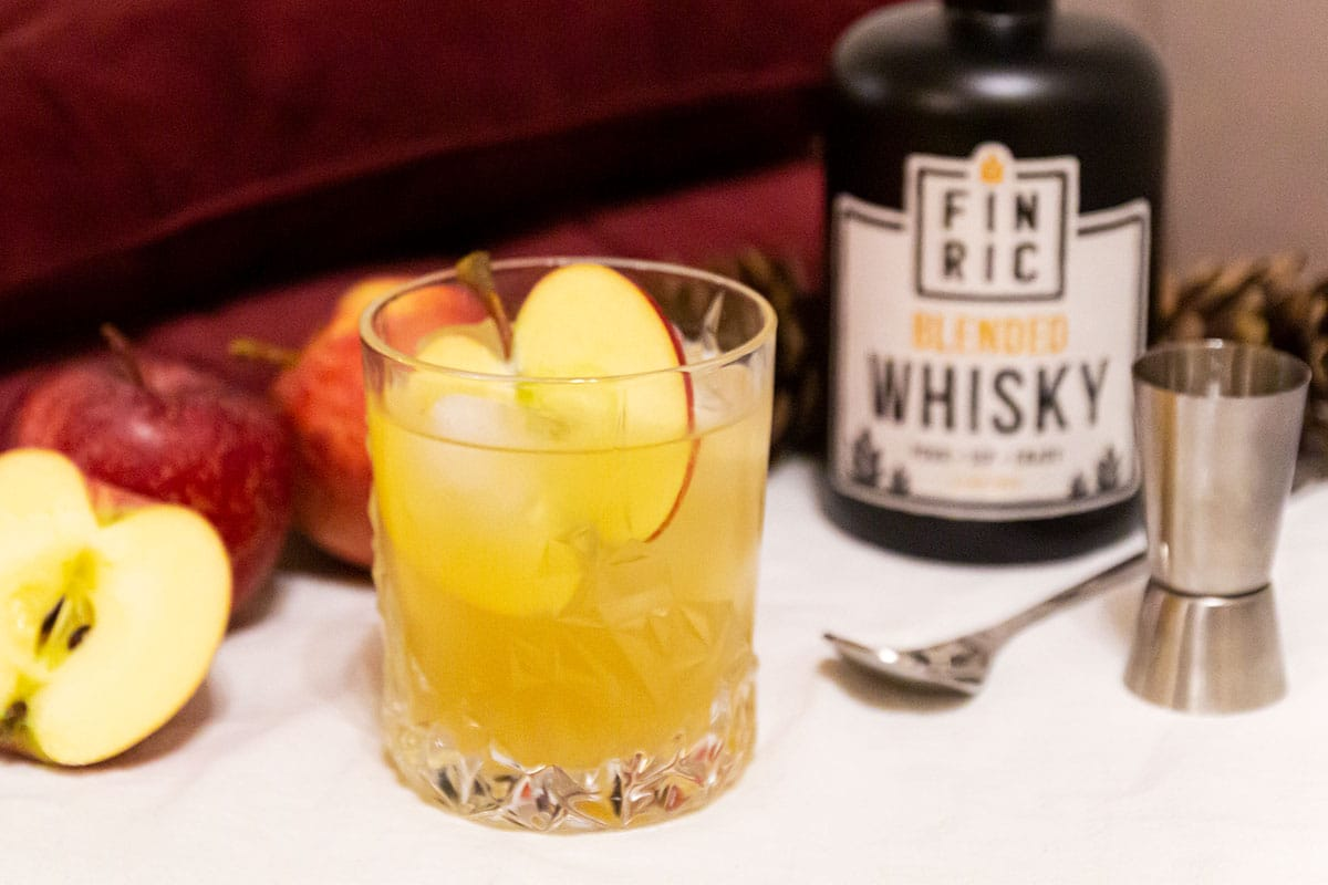 FINRIC Apple Temptation - Whisky Cocktail