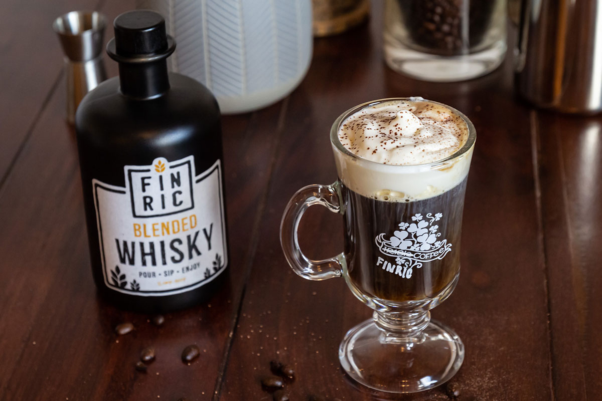 FINRIC Coffee - Irish Coffee mal anders - Warmer Whisky-Drink
